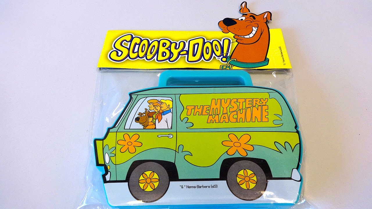 Scooby-Doo The Mystery Machine Surprise Toys Pack Set Unboxing Cars Toy