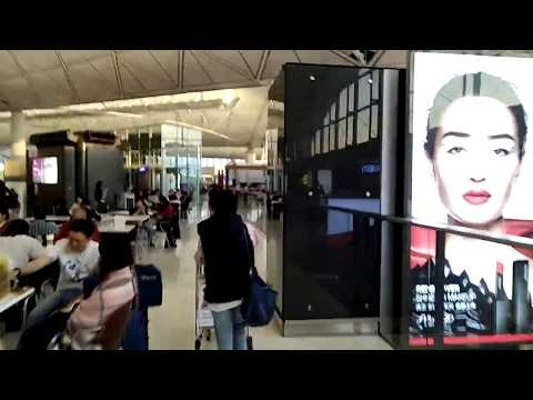Exploring Hong Kong International Airport 2018