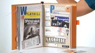 How to Include Memorabilia | Scrapbooking