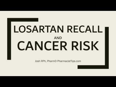 Losartan Recall and Cancer Risk