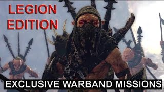 Middle Earth : Shadow Of Mordor (PS4) Legion Edition Exclusive content Walkthrough Gameplay