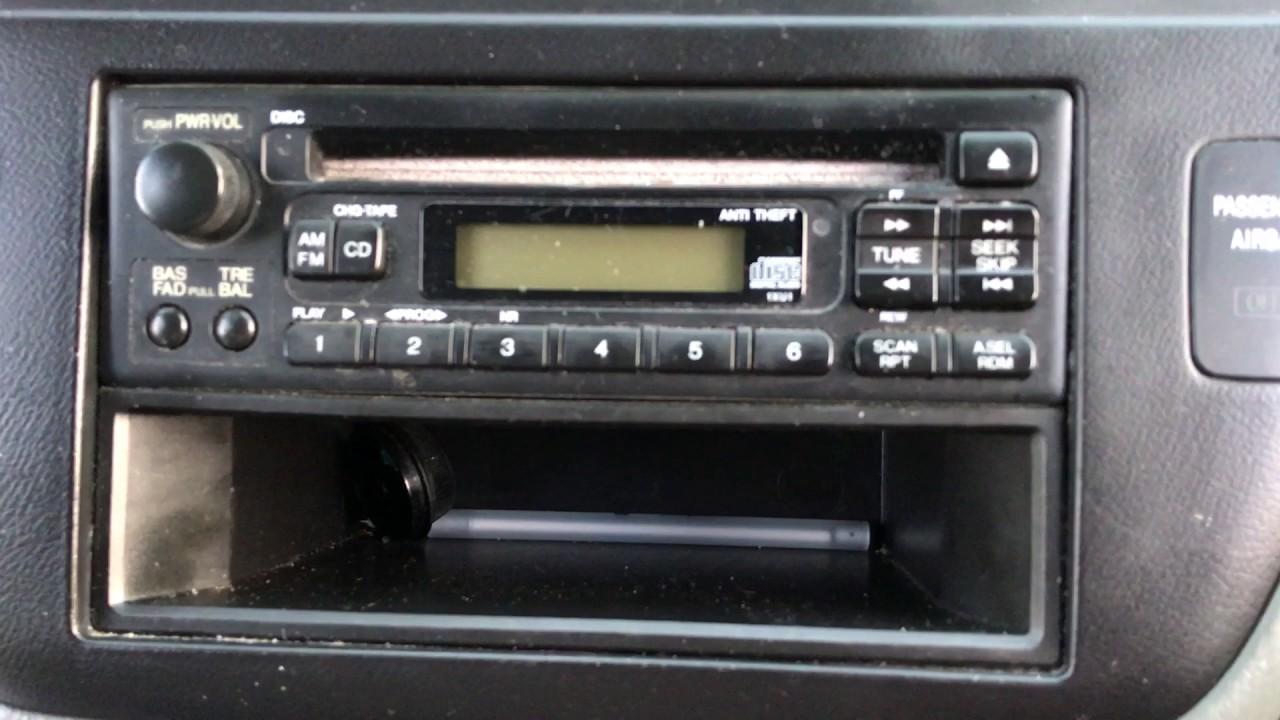 2004 Odyssey Radio Wiring