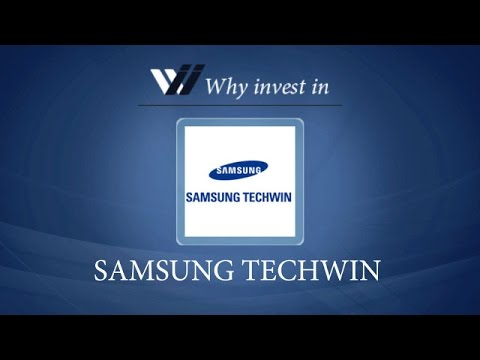 Samsung Techwin - Why invest in 2015