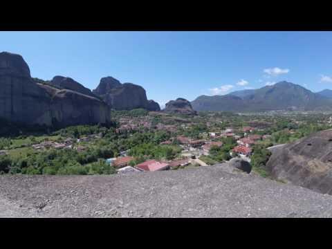 Adventuring in Meteora, Greece