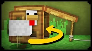 ✔ Minecraft: How to make a Working Animal Trap