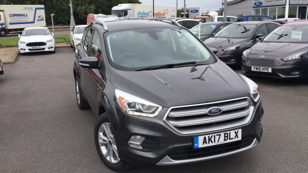 used ford kuga 2 0 tdci titanium 5dr 2wd magnetic 2017 youtube. Black Bedroom Furniture Sets. Home Design Ideas