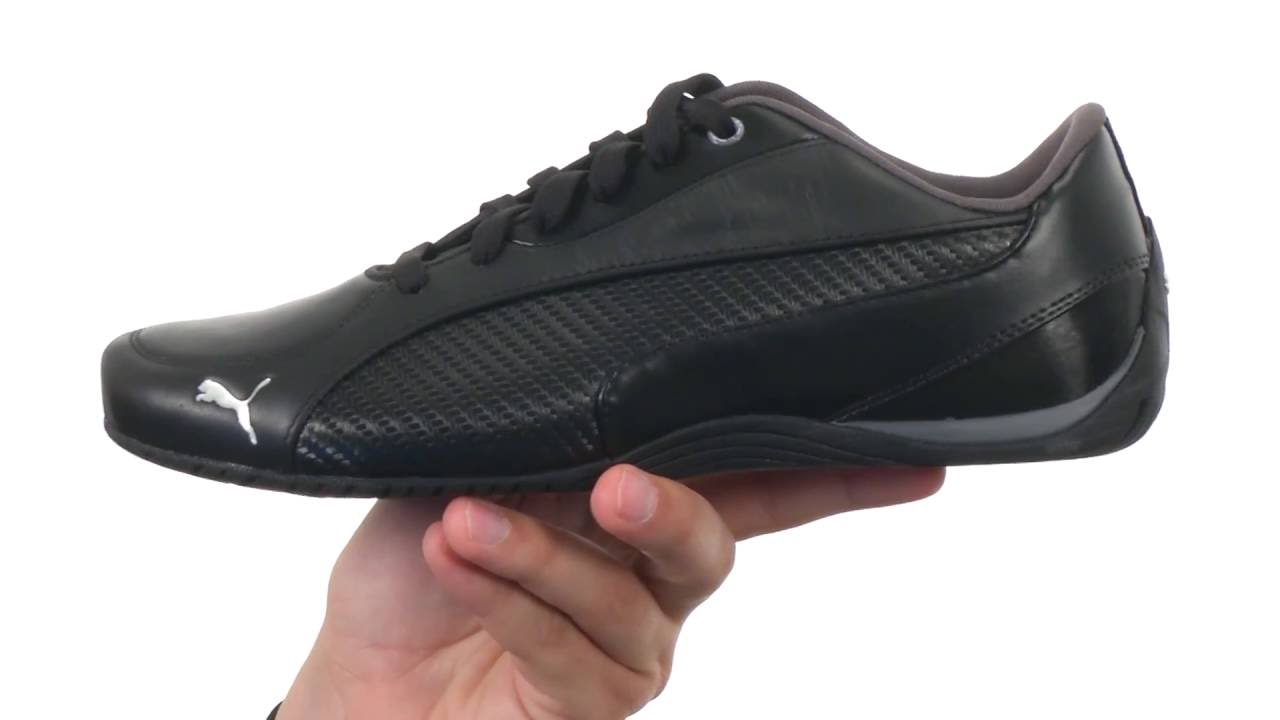 PUMA Drift Cat 5 Carbon SKU 8724467 - YouTube f9b5881837196