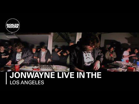 Jonwayne live in the Boiler Room Los Angeles