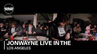 Jonwayne live in the Boiler Room Los Angeles