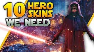 10 Hero Skins We Need In Star Wars Battlefront 2!