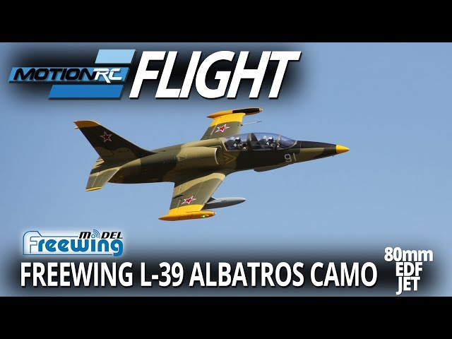 Freewing L-39 Camo Albatros - Flight Review - Motion RC