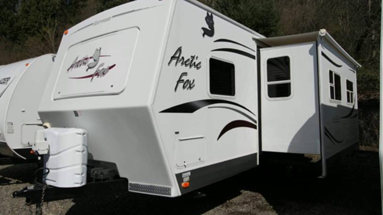 Used 2010 Northwood Arctic Fox 36 5v Fifth Wheel For Sale