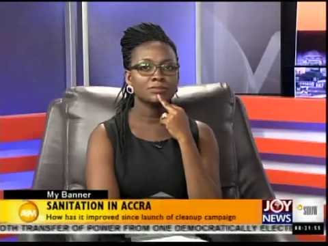 Sanitation in Accra - My Banner (13-8-14)