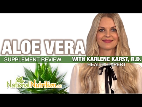 Professional Supplement Review - Aloe Vera