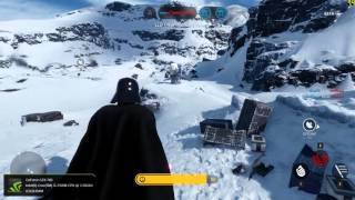 Star Wars: Battlefront Beta - Feel the power of the Dark Side