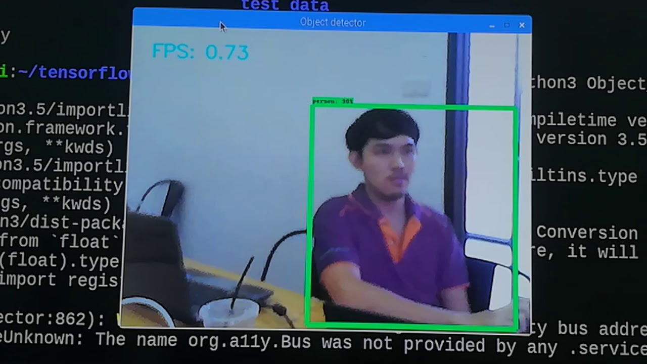 Raspberry Pi Projects: Raspberry pi TensorFlow Object Detection API
