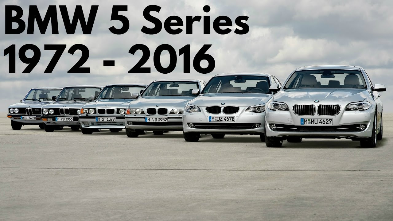 BMW 5 Series 1972 – 2016 - YouTube