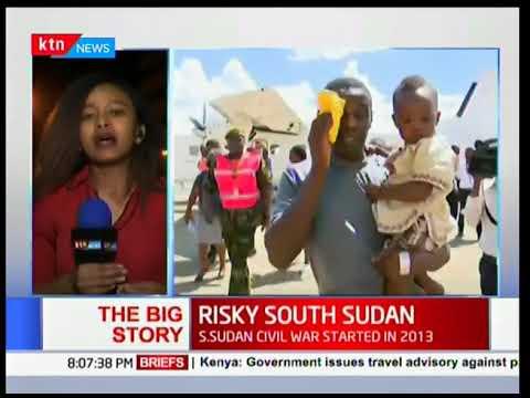IGAD rapporteur Uhuru Kenyatta issues travel advisory on South Sudan: The Big Story