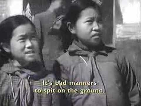 China Anti-spitting Campaign (c. 1950)