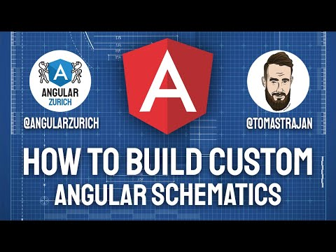 Thumbnail for How to use Angular Schematics to empower Developers of Frontend Apps & Libraries by Tomas Trajan