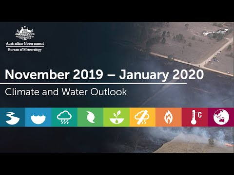 Climate And Water Outlook, Issued 31 October 2019