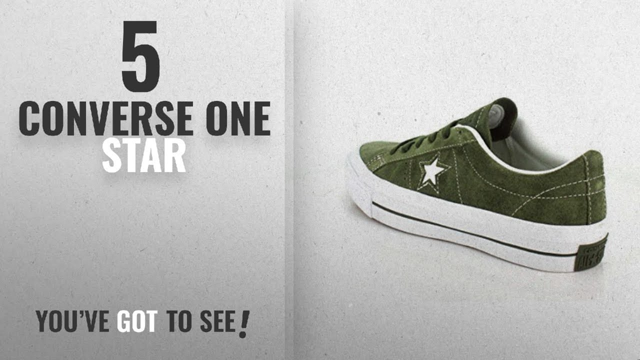 467920f442 Top 5 Converse One Star [2018]: Converse Unisex One Star Pro Low Top Herbal  Sneaker - 10.5 Men -
