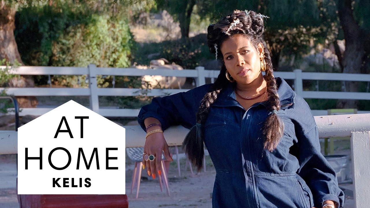 Take a Tour of Kelis' California Farm | At Home With | Harper's BAZAAR