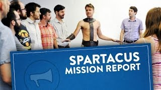 Mission Report: Spartacus In Real Life