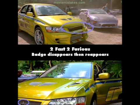 Fast And Furious 4 Full Movie >> 2 Fast 2 Furious (2003) - Movie Mistakes - YouTube