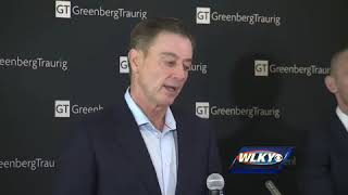 Rick Pitino statement on NCAA ruling