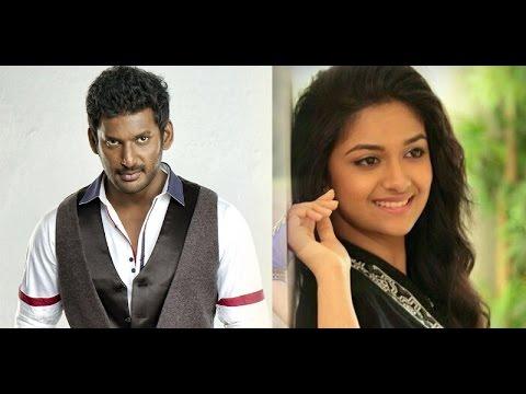 Vishal to romance Keerthi Suresh in Pandiraj's movie?