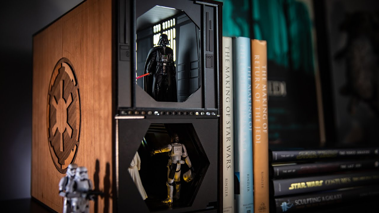 Star Wars Book Nook Diorama Build!