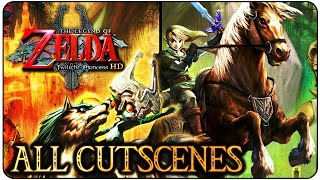 The Legend of Zelda Twilight Princess HD THE MOVIE (All Cutscenes & Bosses)