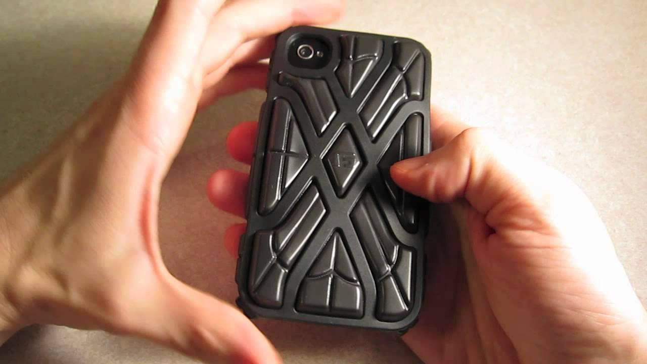 Review: G-Form X-Protect Case for iPhone 4 & 4S - YouTube
