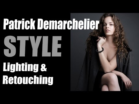 Patrick Demarchelier Style Lighting Technique & Retouching Tips using StyleMyPic Pro Workflow Panel