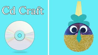 Best Out Of Waste Cd Craft Idea | Cd Craft | Reuse Waste Cd | Genius Way To Reuse Cd | Pen Holder