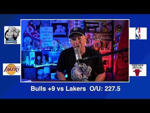 Chicago Bulls vs Los Angeles Lakers 1/23/21 Free NBA Pick and Prediction NBA Betting Tips