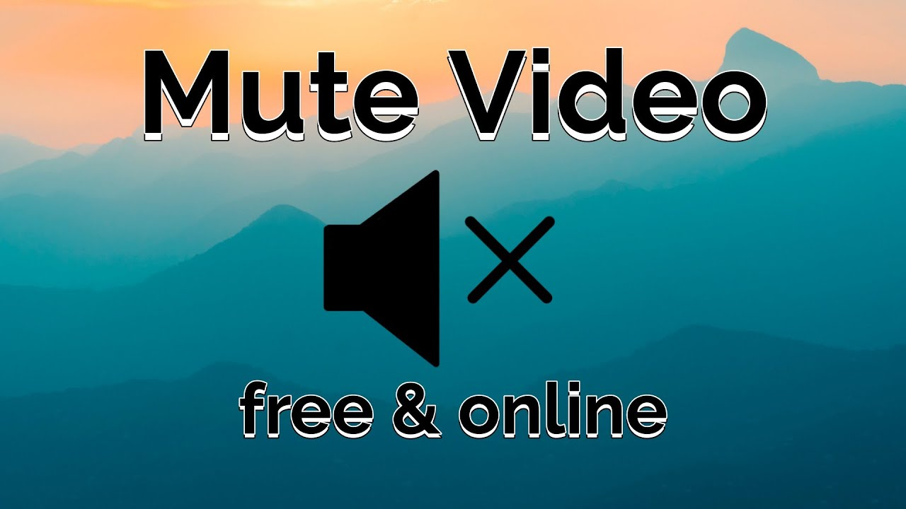 Remove Audio from Video Online: Mute or Add Your Own