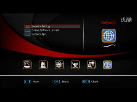 video of DVB S2 IPTV Youtube+ cccam iks