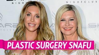 olivia newton john s daughter chloe lattanzi says plastic surgery left her looking mutilated
