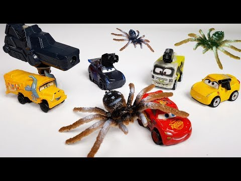 Disney Cars 3 Toys Giant Spiders Attack Lightning Mcqueen Cruz Jackson Storm Miss Fritter ARVY