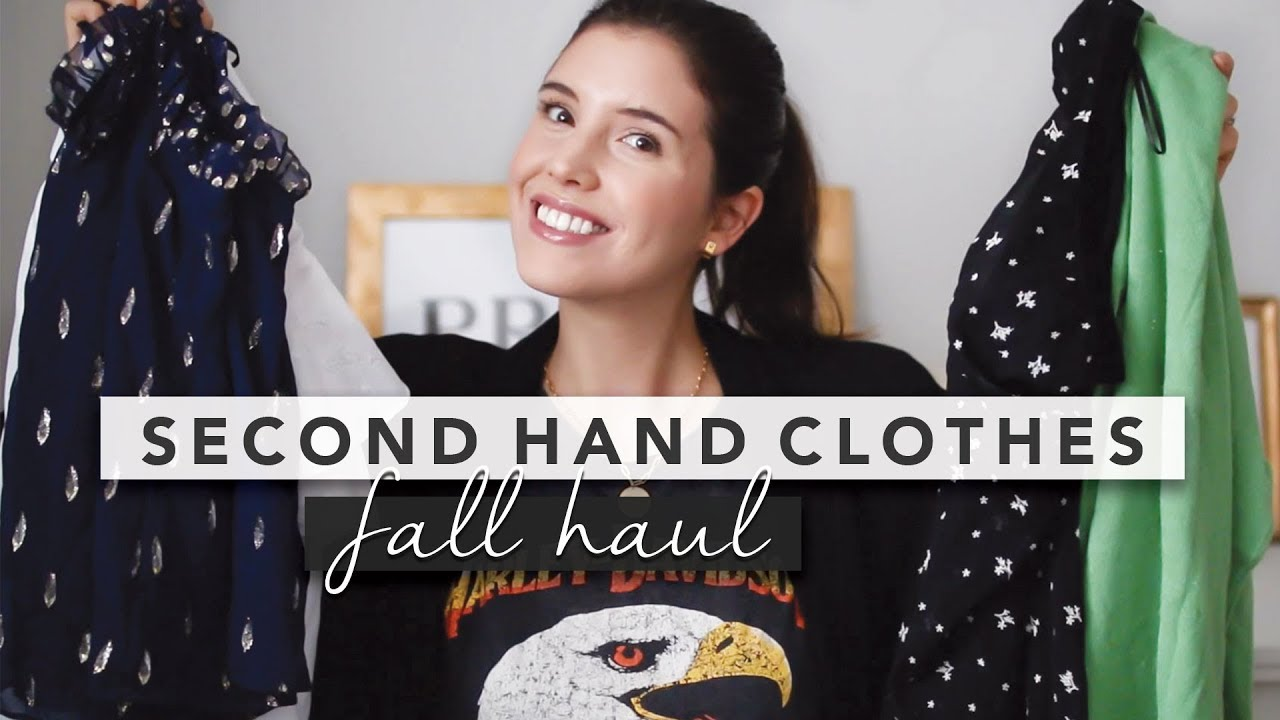 [VIDEO] - Thrift and Vintage Fall Haul and Try On with Styled Outfits | by Erin Elizabeth 6