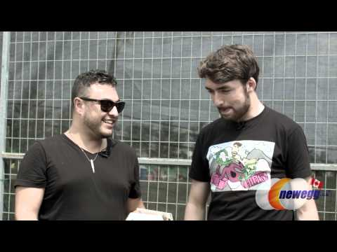 VELD 2014 - Oliver Heldens interview: Love This City TV powered by Newegg