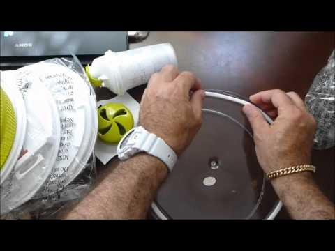 August 5 2012salad Spinner Mandoline Slicer Youtube