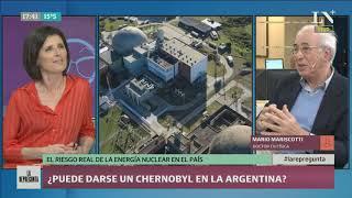 ¿Puede darse un Chernobyl en Argentina? La mirada de Mario Mariscotti