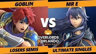 Overlords SSBU - APE | Goblin (Roy) Vs. DEM | Mr E (Lucina) Smash Ultimate Tournament Losers Semis