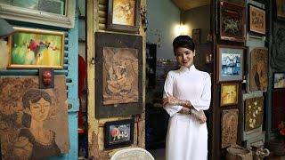 Nữ thợ xăm Phạm Mai trong concept ảnh Phụ nữ Việt Nam.