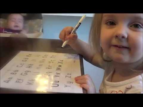 How We Homeschool PreK (3 years old) What we use, and routine!