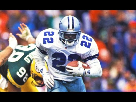 Emmitt Smith (RB, Dallas Cowboys) Career Highlights | NFL