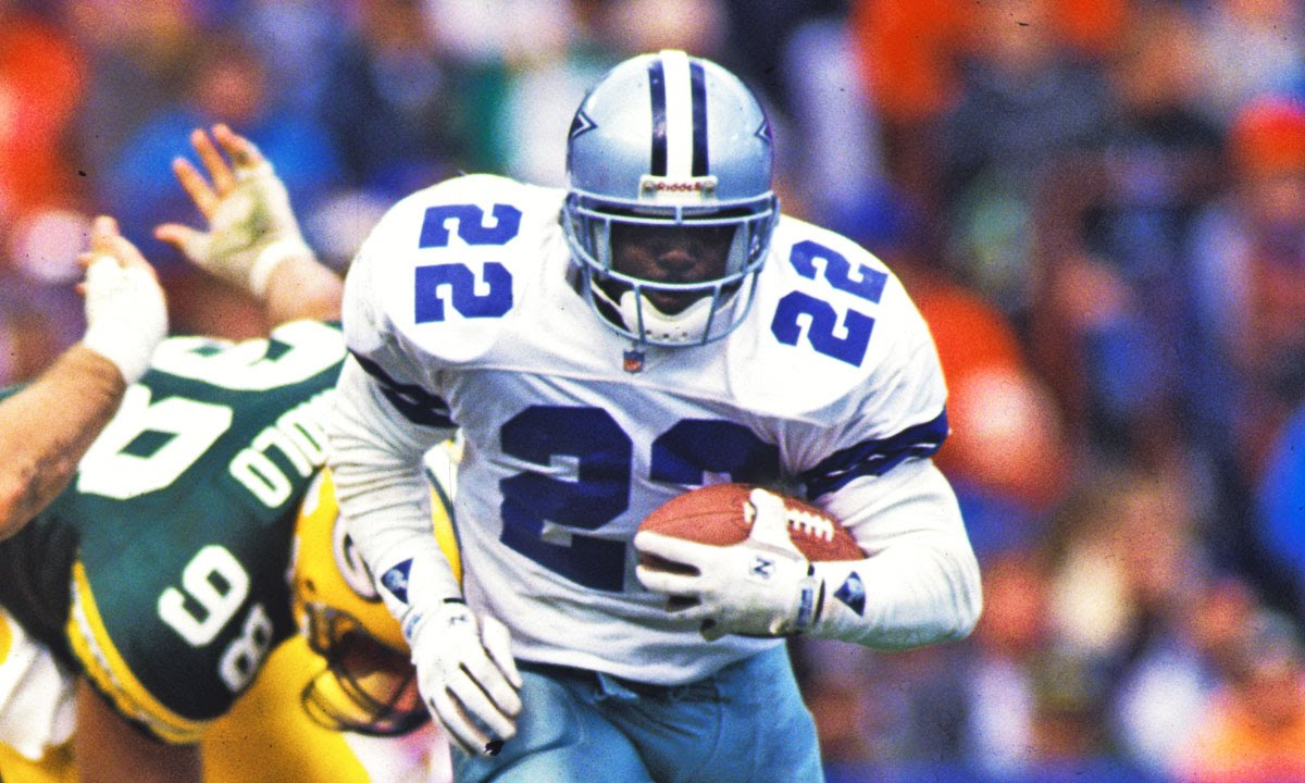 Emmitt Smith Rb Dallas Cowboys Career Highlights Nfl